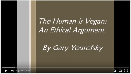 the Human is vegan